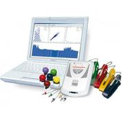 Cardiograph,  doppler,  encephalograph,  miograph,  rheograph,  Newcastle